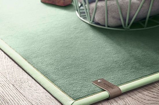 MILLIONS OF IDEAS. WITH SELECTED RUGS BY VORWERK