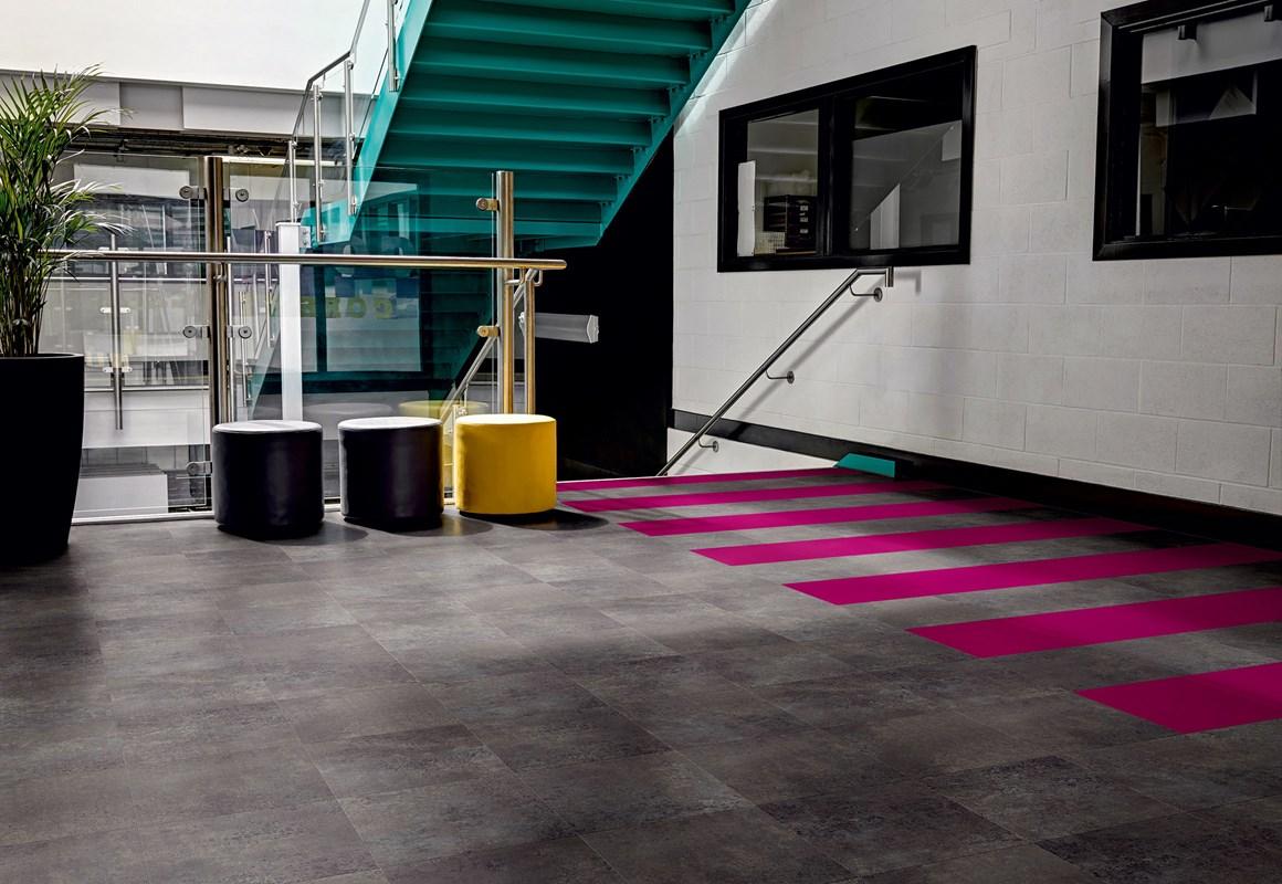 Designer Vinylboden in modern living