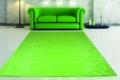 grüner teppich mit Sofa