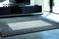 grauer teppich mit hochglanz Sideboard