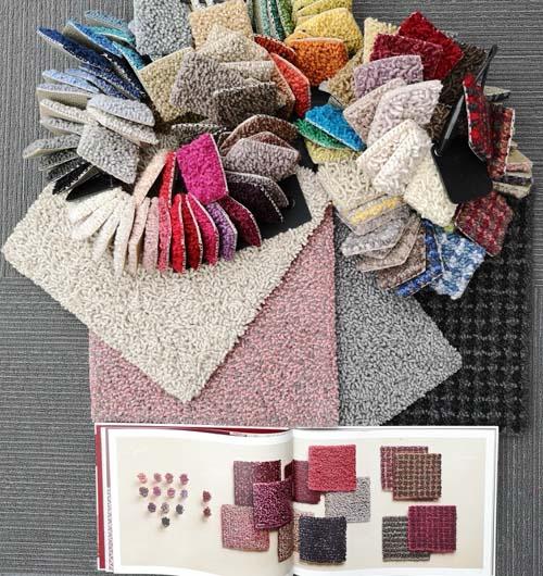 Jab Muster und Teppichmuster mit Katalog