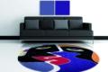 Sofa mit teppich von Sabine Welz