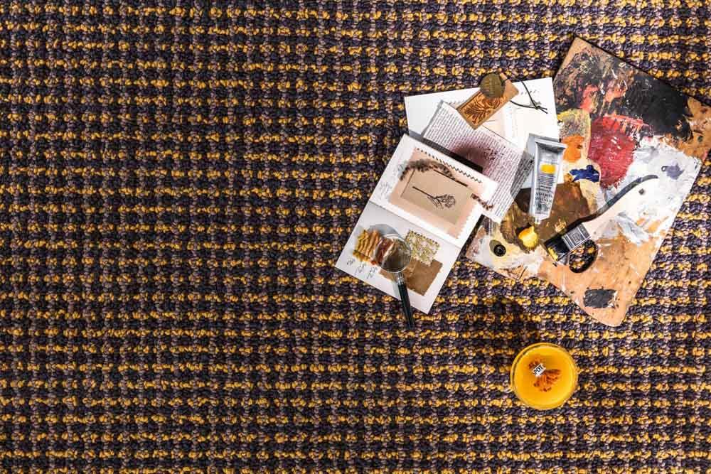 Jab Teppich von oben Muster