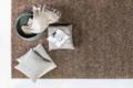 Jab Teppich von oben braun