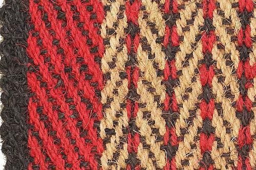 Kokos Schär Muster rot