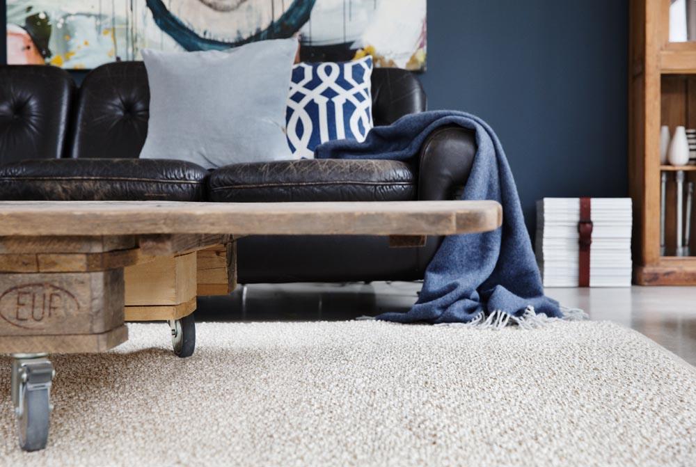 Teppich aus Leinen