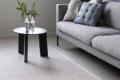 sofa mit teppich aus paier