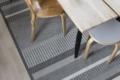 Teppich ausschnitt mit Stühlen