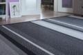 teppich getreift wolle papier