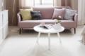 Sofa Couchtisch und teppich aus papier mit wolle