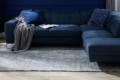 bales sofa mit handwebteppich