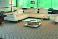 teppich mit muster vor sofa