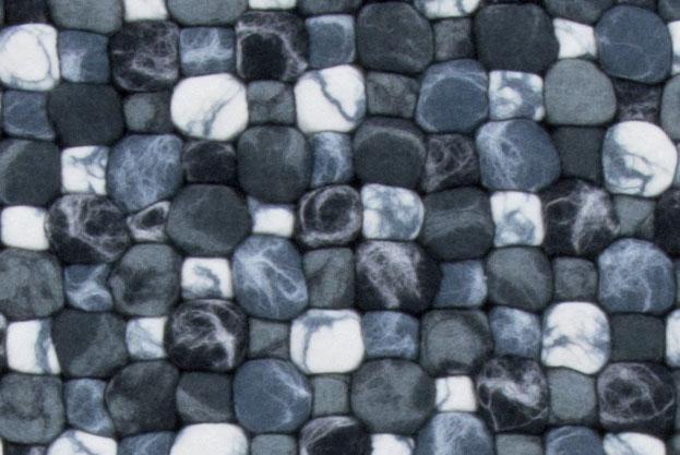 Teppichdetailbild Filz in grau
