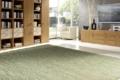 Teppich grün im Wohnzimmer