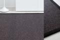 Teppich dunkel grau aus Wolle und papier