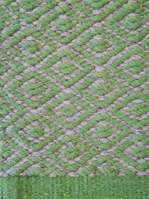 Teppichstruktur grün