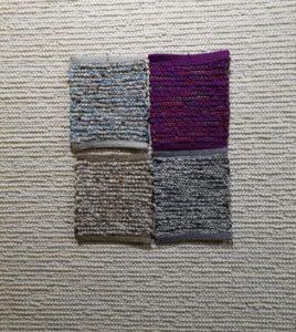 Sisal Muster auf Teppich