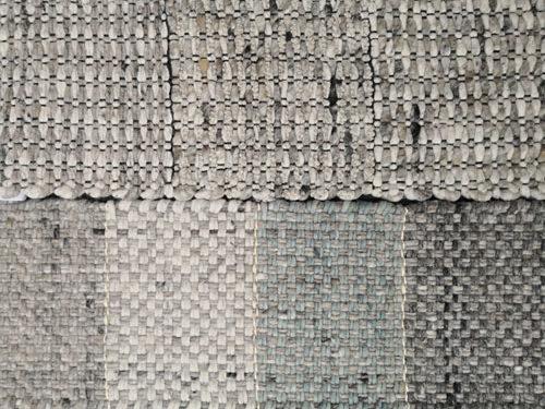 Teppichmuster gewebte Struktur