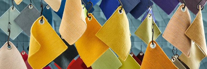 Teppichmuster an Seilen