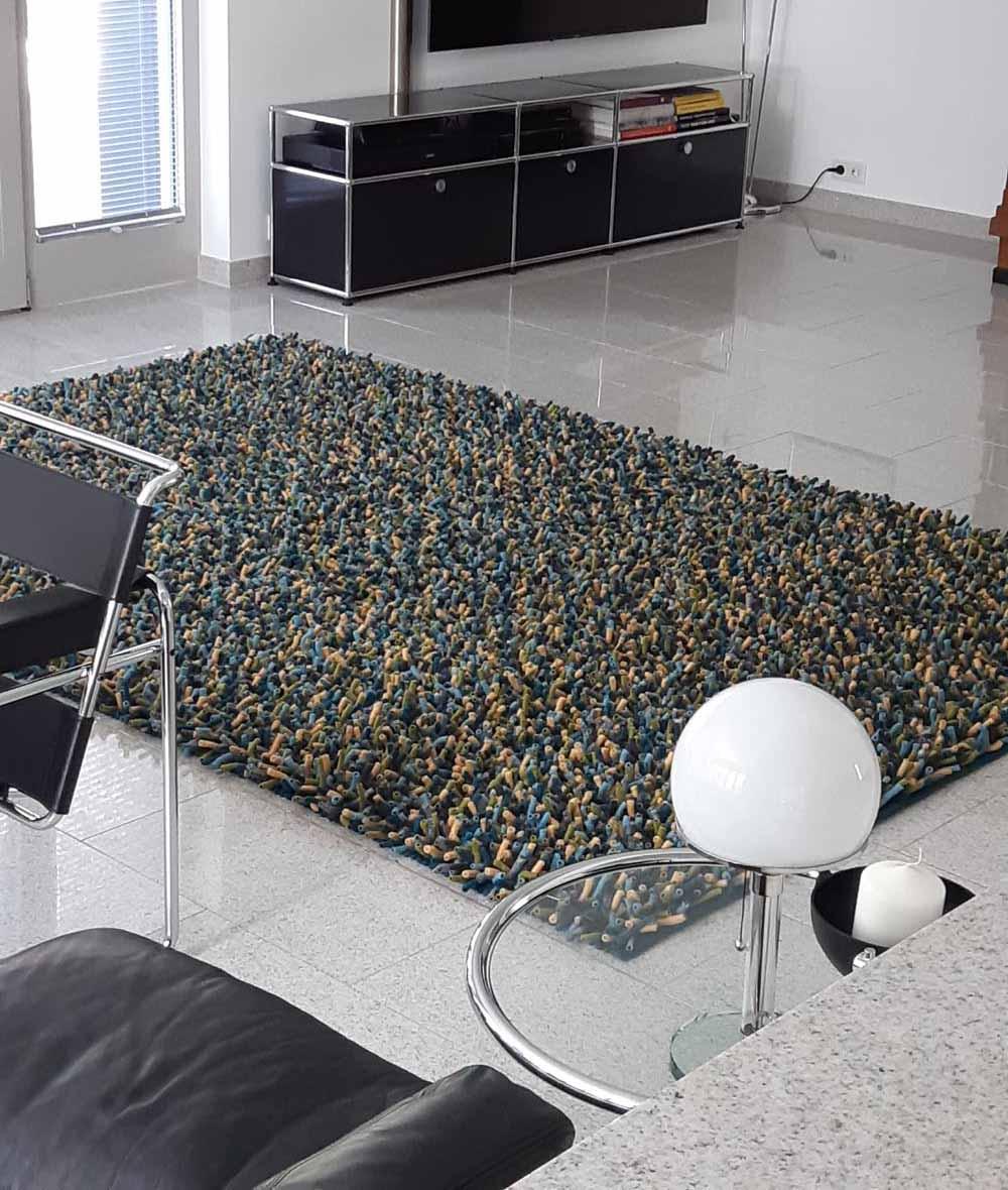 Design-Teppich mit farbige Rugs