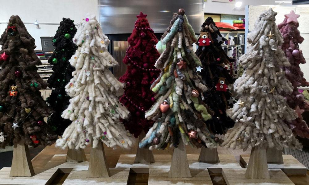 weihnachtsbaum aus teppich
