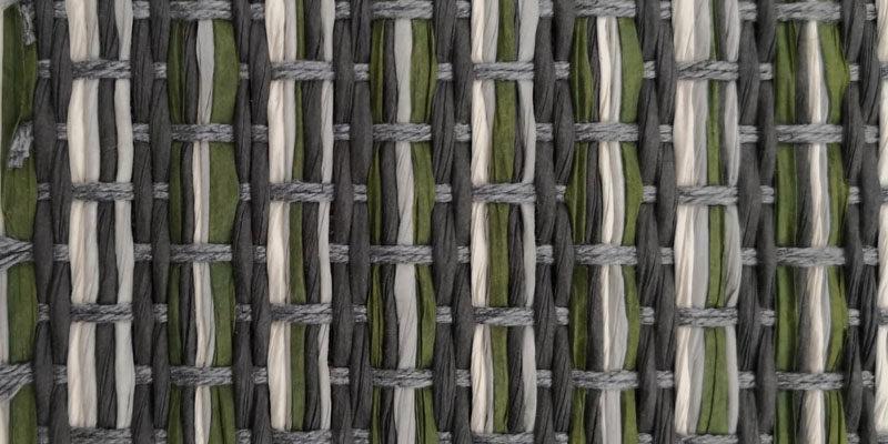 Teppicg struktur aus papier gewebt