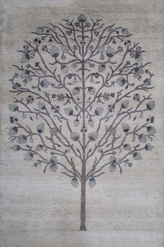 alpaka Teppich Baum