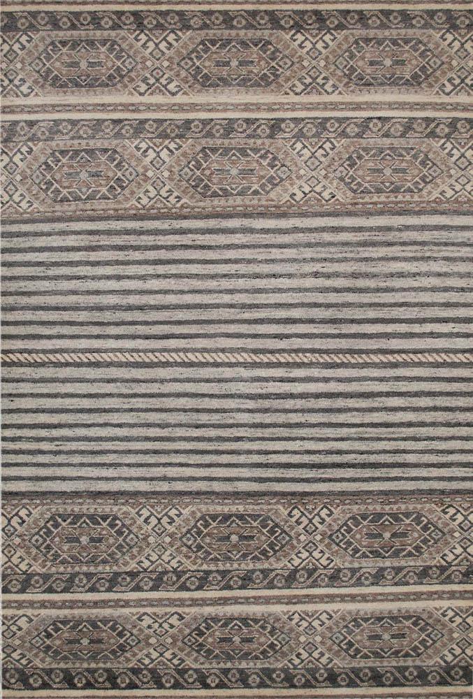 alpaka Teppich muster streifen