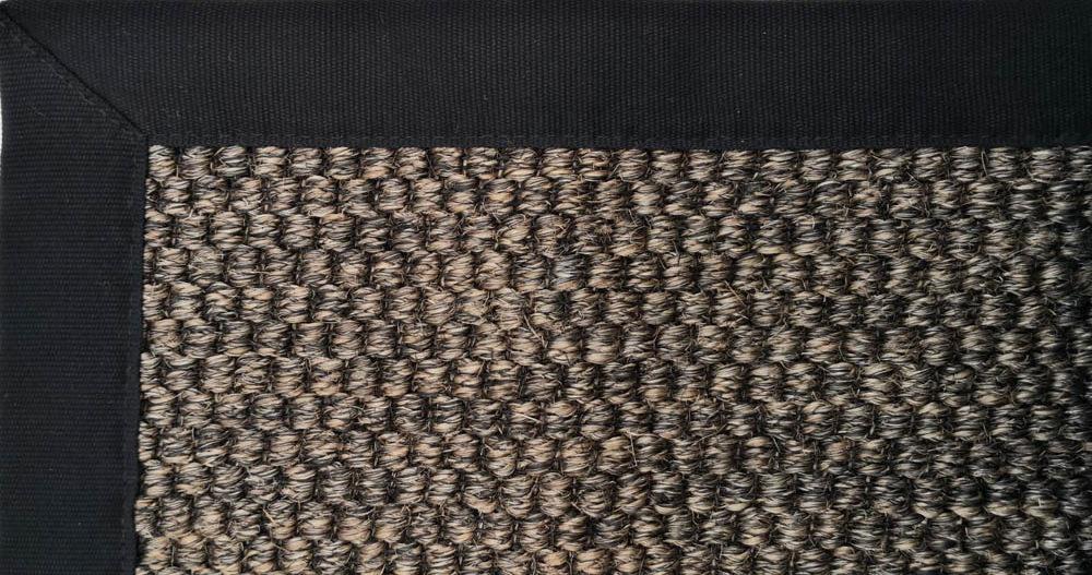 Teppichmuster Sisal mit Einfassung