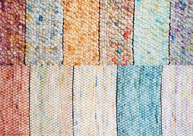 Neuheit der Domotex Trendsetter Teppiche aus Viskose/Schurwolle