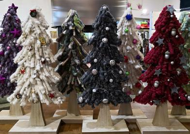 Weihnachtsdeko passend zu unseren Wollteppichen