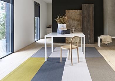 Nachhaltigkeit aus Finnland – natürliche Teppiche aus Papier